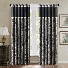 Wellington Jacquard 2-pack Window Curtains