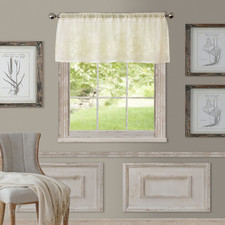 Addison Light Filtering Sheer Window Valance