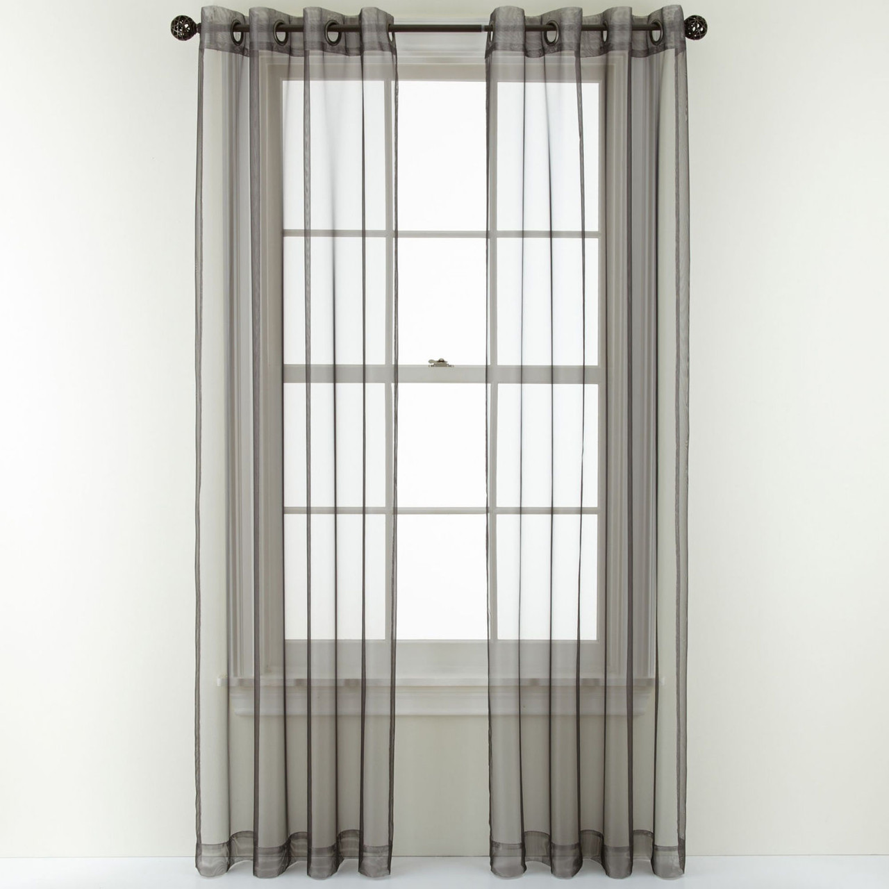 Open And Shut Sheer Curtain Panel Window Blind Outlet