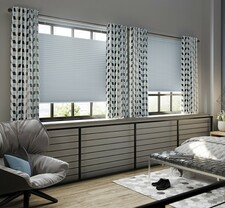 WBO Classic Top Down Bottom Up Cordless Blackout Cellular Shades