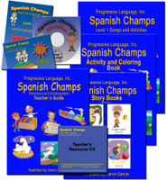 Preschool & Kindegarten Spanish Curriculum