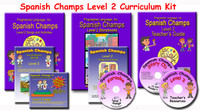 Spanish Champs Level 2 Curriculum