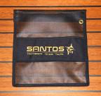 "Santos Big Game Lure Bag - Single Pocket (12"" X 12"")"
