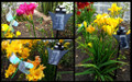 Outdoor Solar Garden Decor Flickering Butterfly/Dragonfly