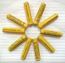 600 MAH AAA batteries