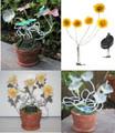 Outdoor Garden Decor Flower Solar Landscape Light 5 LEDs