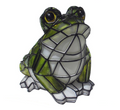 Solar Powered Garden Decor Mosaic Frog Light