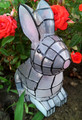 Solar Powered Garden Decor Mosaic Bunny Light