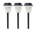 3-Pk Outdoor Garden Solar Landscape Light LED