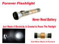 Large Clear 11 Inch Forever Flashlight