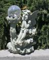 Outdoor Garden Decor Fairy Crackle Glass Ball Solar Light LED