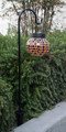 Solar Mosaic Glass Ball Lantern with Shepherd Hook