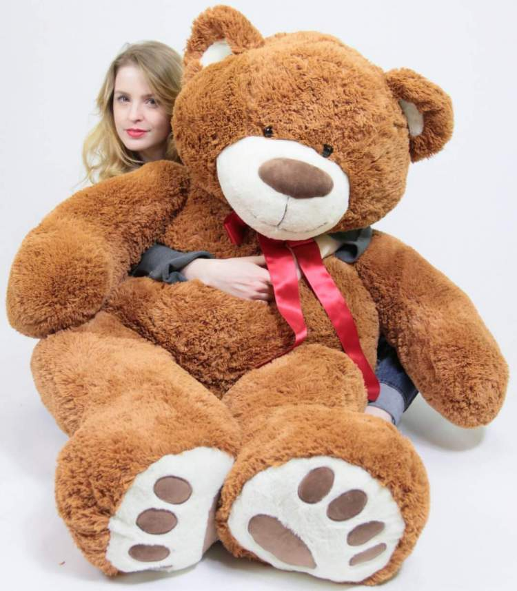 valentines day giant valentines day teddy bears page 1 big plush personalized giant teddy. Black Bedroom Furniture Sets. Home Design Ideas