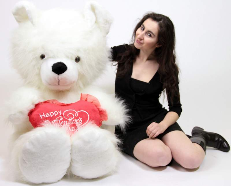 giant valentines day teddy bears made in the usa at bigplushcom