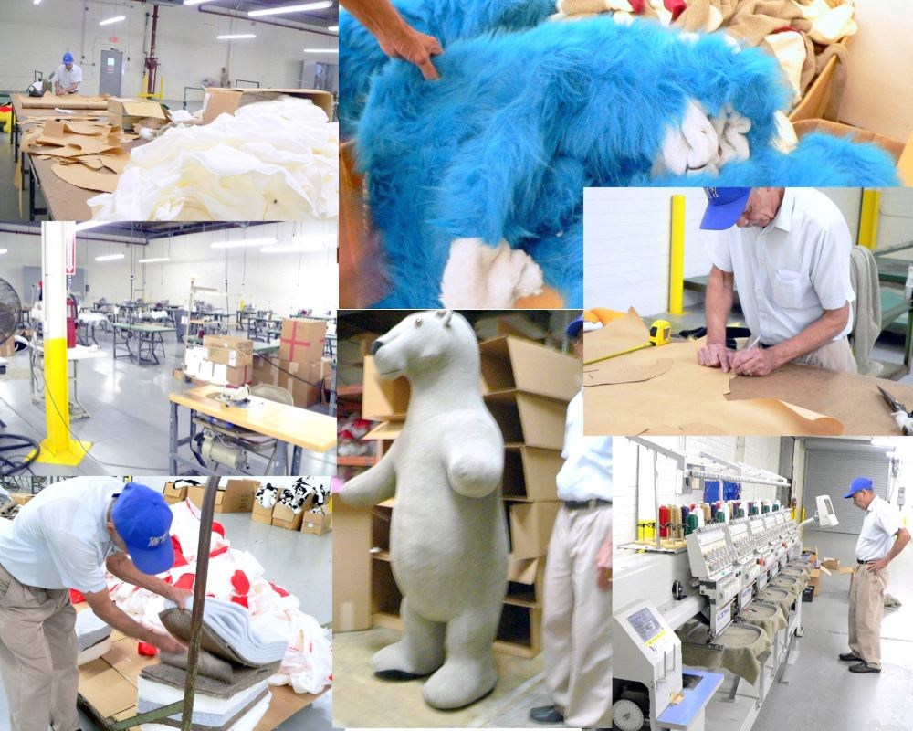 giant stuffed animals made in the USA America at BigPlush.com