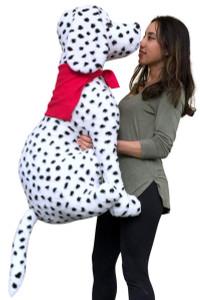 American Made Giant Stuffed Dalmatian Dog 36 Inches Three Feet Tall Big Stuffed Animal