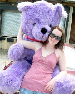 big plush giant 6 ft teddy bear 72 inch tan soft oversized teddybear