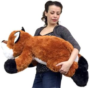 Giant Stuffed Fox 36 Inches Soft Big Plush Superior Quality Large Stuffed Animal
