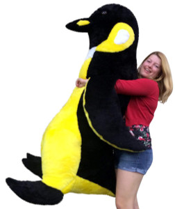 American Made Soft Stuffed Giant 5 Foot Emperor Penguin Big Huge Stuffed Animal Made in the USA America