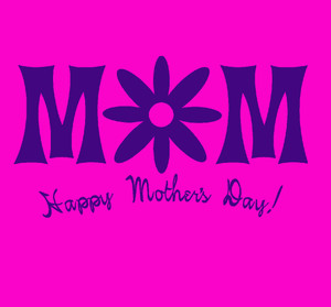 ADD this T-Shirt Design MOM with Image of Flower HAPPY MOTHERS DAY and We'll Dress-Up your Stuffed Animal in this T-Shirt