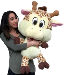 Big Plush 3 Foot Giraffe 36 inch Soft Large Stuffed Animal