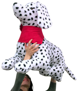 American Made Giant Stuffed Dalmatian 36 Inch Soft 3 Foot Big Stuffed Fire Dog