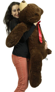 Giant Teddy Bear 36 Inch Brown, Soft 3 Foot Teddy Bear Brand New