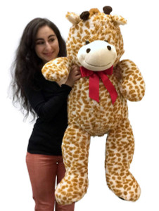 3 Foot Giant Stuffed Giraffe 36 Inch Soft Big Plush Stuffed Animal