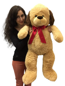 3 Foot Giant Stuffed Puppy Dog 36 Inch Soft Big Plush Stuffed Animal