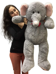 3 Foot Giant Stuffed Elephant 36 Inch Soft Big Plush Stuffed Animal
