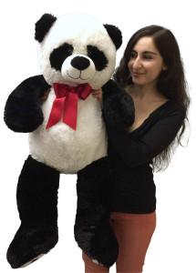 Big Stuffed Panda 36 Inch Soft Large 3 Foot Bear Big Plush Animal