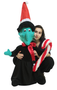 Big Plush Giant Christmas Witch Stands 48 Inches Tall, Weird  Wonderful Way to Say Season's Greetings