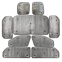 Vauxhall Vivaro LWB Mk2 with Barn Doors (2014-2018) Thermal Reflective Blinds