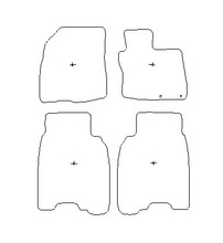 Honda Civic 8th Gen (2006-2012) Car Mats