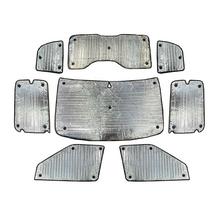 Fiat Doblo 2nd Gen Facelift (2015+) Thermal Reflective Blinds (8 Piece)