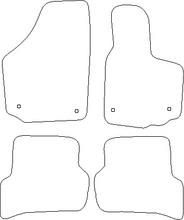 Seat Altea (2004-2015) Bespoke Tailored Car Floor Mats
