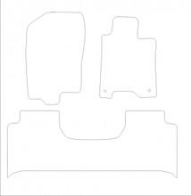 Nissan Navara Mk3 (2014-2018) Bespoke Tailored Car Floor Mats