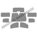 Vauxhall Vivaro Life Mk3 L2 MWB (2019+) Thermal Reflective Blinds