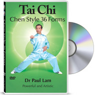 Tai Chi - Chen Style 36 Forms DVD with Dr Paul Lam