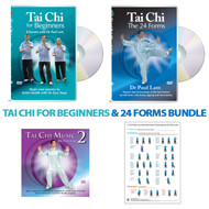 BUNDLE: Tai Chi for Beginners and 24 Forms Bundle 2020