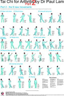 Tai Chi for Arthritis Part 2 Wall Chart
