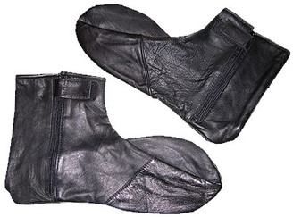 Men's leather socks
