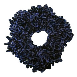 Volumizing Scrunchie (Navy Blue)