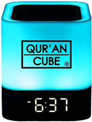 Quran Speaker LED Multicolored Touch Lamp Clock