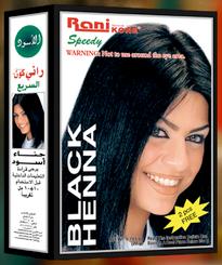 Copy of Rani Speedy Black Henna Hair Colour