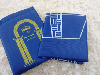 Blue Portable Prayer Mat