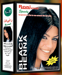 Rani Speedy Black Henna Hair Colour