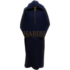Super Warm Thick wool Genuine men Moroccan hooded