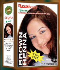 Rani Speedy Brown Henna Hair Colour