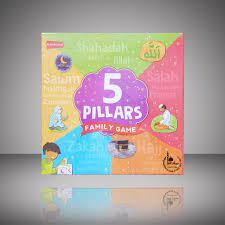 5 pillars family board game